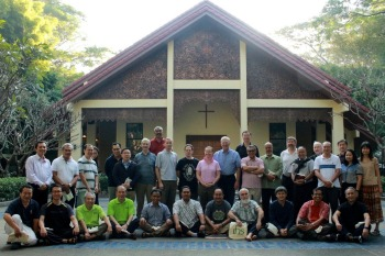 Delegates at the Asia Pacific Conference of Major Superiors in Chiang Mai, Thailand