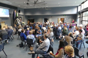 Fr Daven Day SJ addresses attendees.