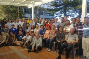 Participants at the Mirador Jesuit Villa Retreat House in Baguio City.